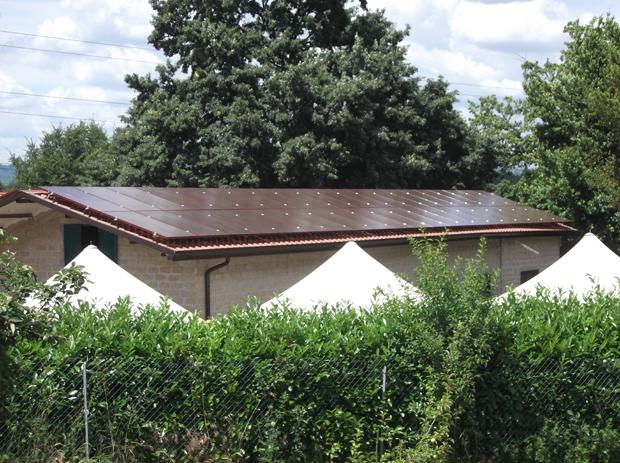 "Impianto fotovoltaico Brandoni \""red\"""