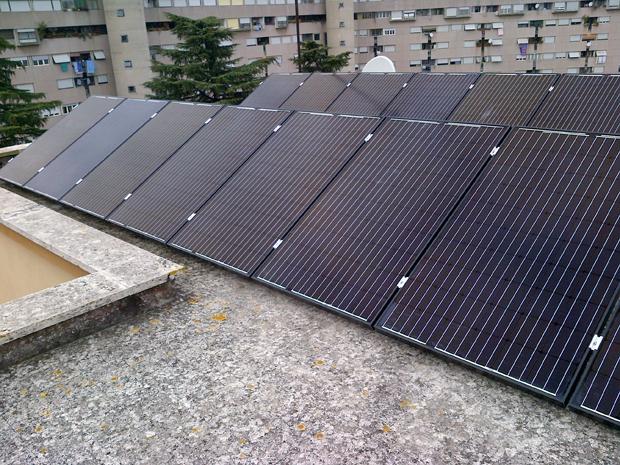 Impianto fotovoltaico SunEdison