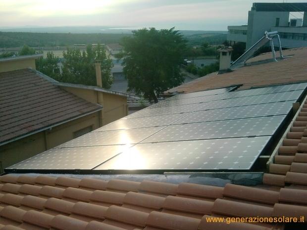 Impianto fotovoltaico e solare termico