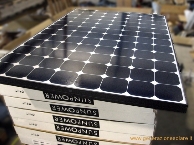 Moduli fotovoltaici SunPower