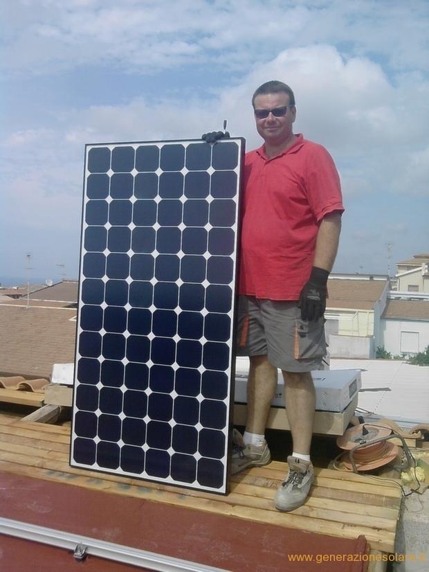 Modulo fotovoltaico SunPower