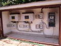 Dettaglio quadri elettrici di impianto