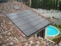 Impianto fotovoltaico integrato con pannelli black