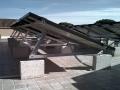 Impianto fotovoltaico su cavalletti