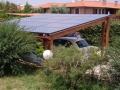Pensilina fotovoltaica