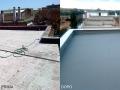 Applicazione di guaina impermeabilizzante liquido-cementizia ad alta pedonabilità