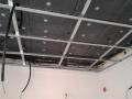 Montaggio in opera di controsoffitto con componenti Knauf per l'alloggio di pannelli radianti a soffitto