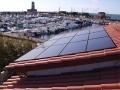 Intervento di rifacimento copertura ed installazione impianto fotovoltaico integrato con pannelli SunPower