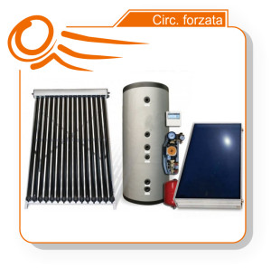 solare termico forzata kit