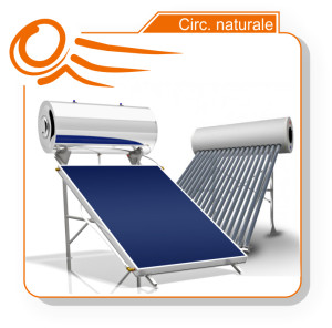 solare termico naturale kit