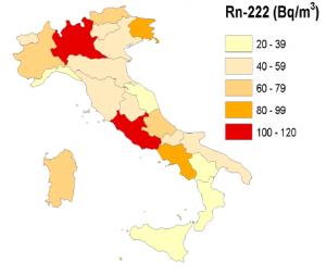 radon mappa